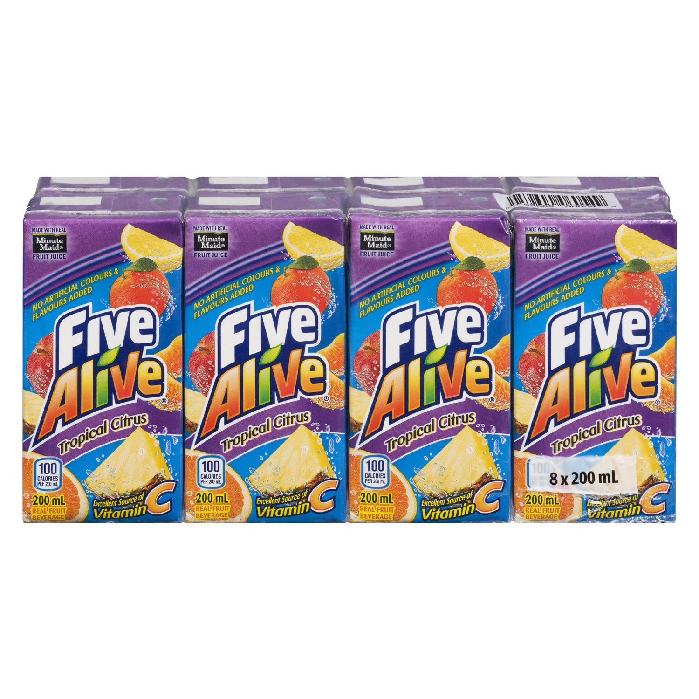 Five Alive Tropical Citrus 8pk