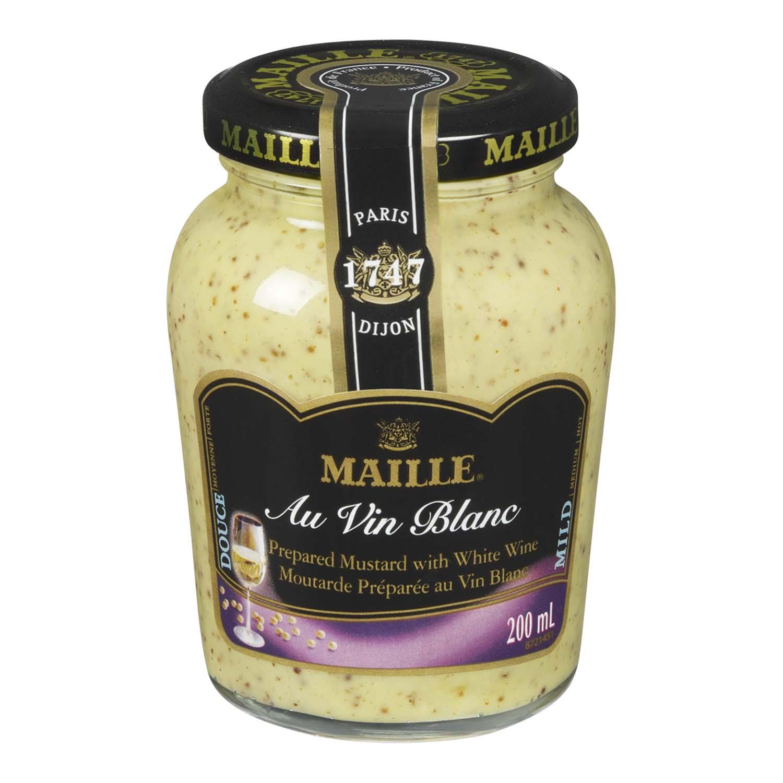 Maille white wine mustard stong 39 s market - Tripes au vin blanc ...