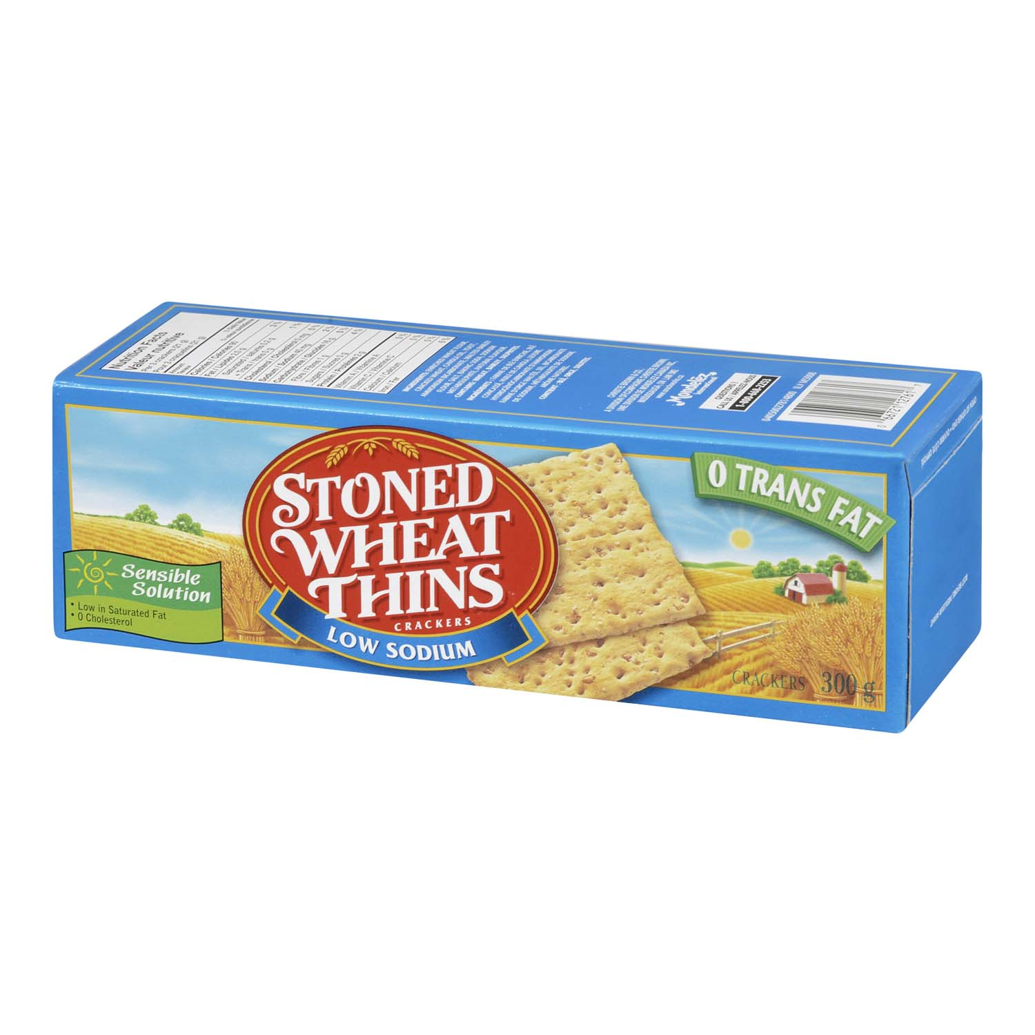 STONED WHEAT THINS - LSS SALT | Stong's Market
